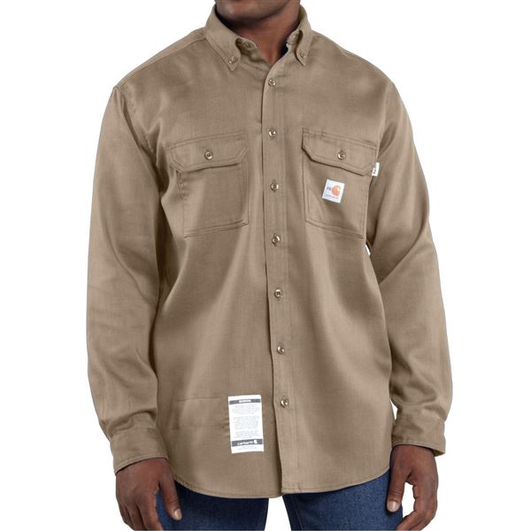 Carhartt FR Flame-Resistant Lightweight Twill Shirt - Long Sleeve (For Men)