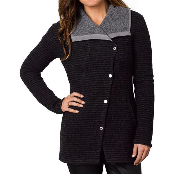 prAna Milana Jacket - Wool (For Women) in Black - Closeouts
