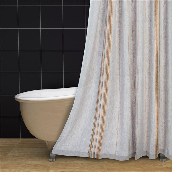 Coyuchi Rustic Linen Shower Curtain in  - Closeouts