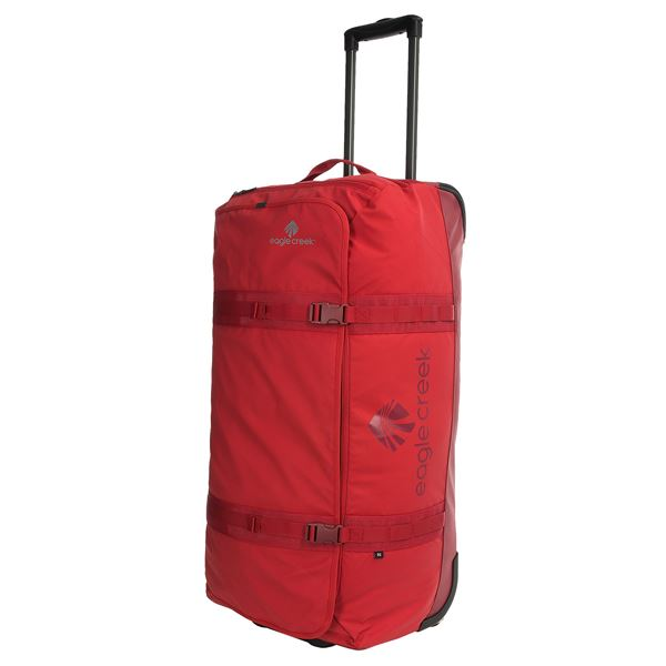 "Eagle Creek No Matter What Flatbed Rolling Duffel Bag - 32"" in Red Clay - Overstock"