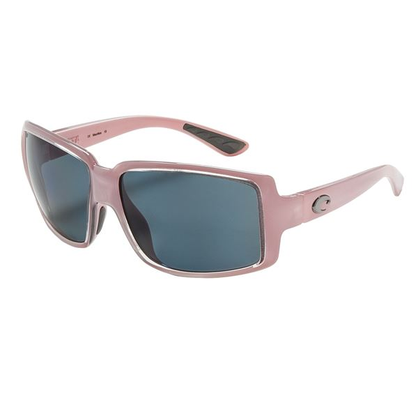 Costa Miss Britt Sunglasses - Polarized 580P Lenses (For Women) in Coral Amber - Closeouts
