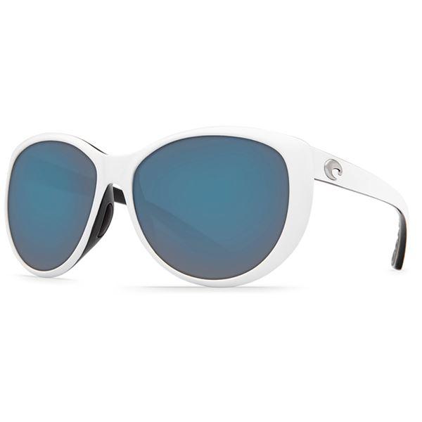 Costa La Mar Sunglasses - Polarized 580P Lenses (For Women) in Wood Fade/Silver Mirror - Closeouts