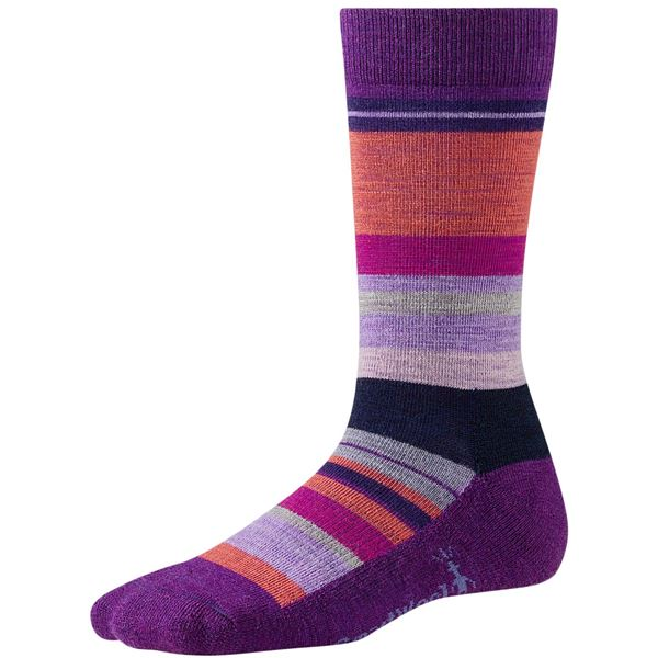 SmartWool Saturnsphere Socks - Merino Wool, Crew (For Women) in Mountain Purple Heather - Closeouts