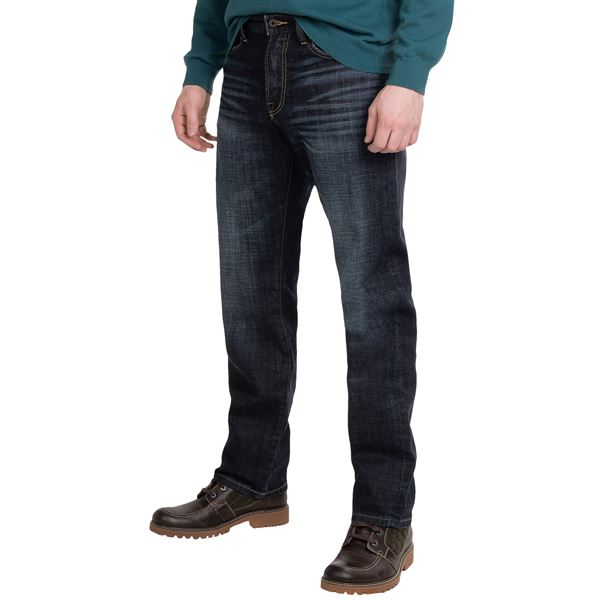 Lucky Brand 329 Classic Fit Jeans - Straight Leg (For Men) in Stanley - Closeouts