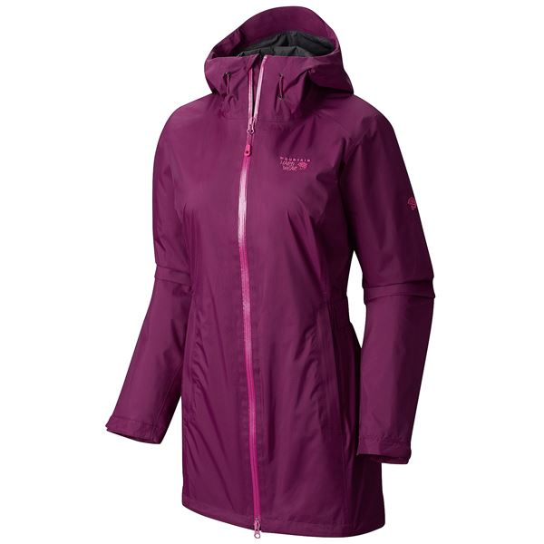 Mountain Hardwear Finder Dry.Q® Core Parka - Waterproof (For Women) in Saddle/Khaki - Closeouts