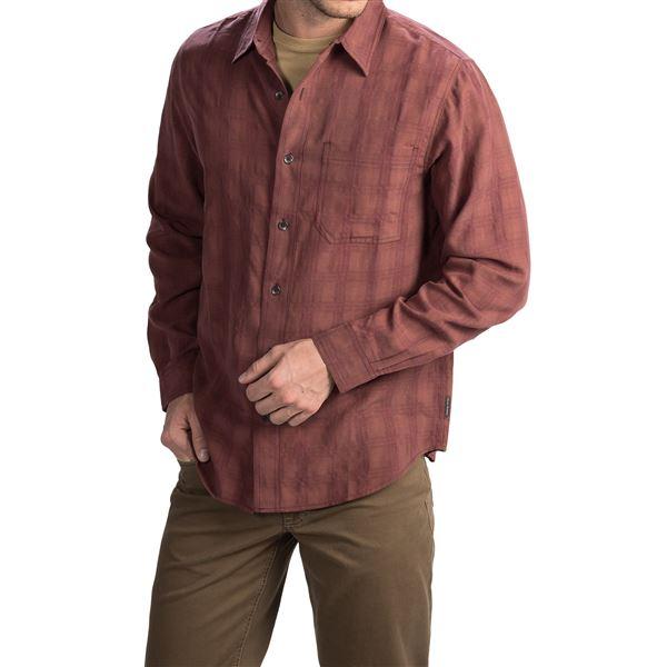 Royal Robbins San Juan Plaid Shirt - UPF 25+, Long Sleeve (For Men) in Navy - Closeouts