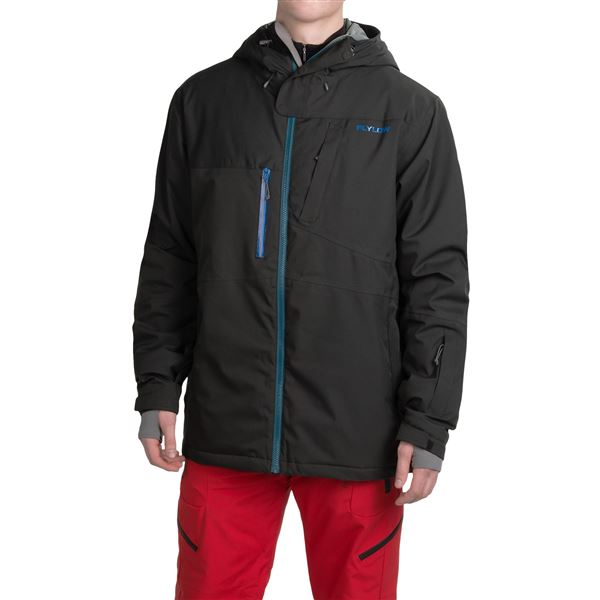 Flylow Roswell Ski Jacket - Waterproof, Insulated (For Men) in Black - Closeouts