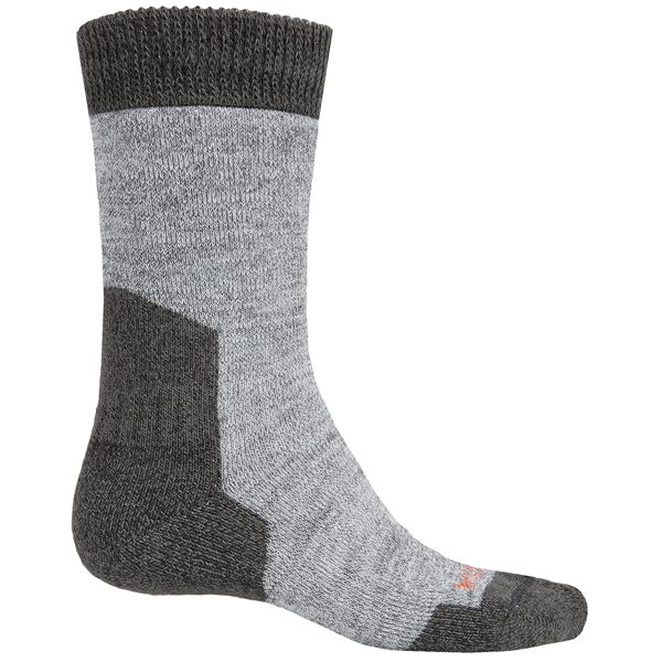 Bridgedale MerinoFusion Summit Boot Socks - Merino Wool, Crew (For Men) in Grey/Navy - 2nds