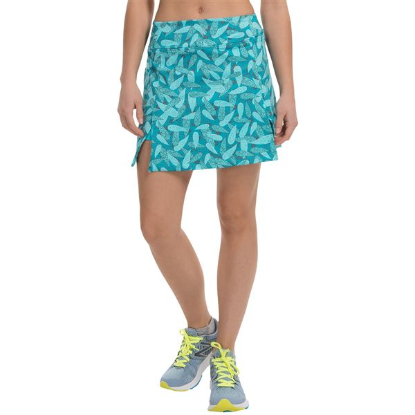 Stonewear Designs Stride Skort (For Women) in Barberry Paradise - Closeouts