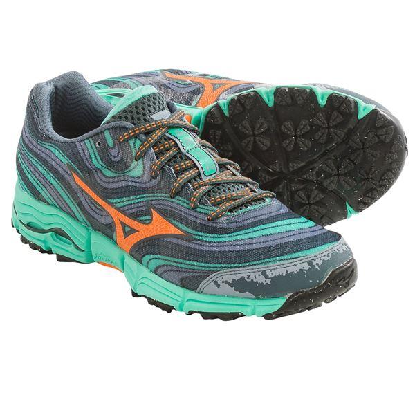 Mizuno Wave Kazan Trail Running Shoes (For Women)
