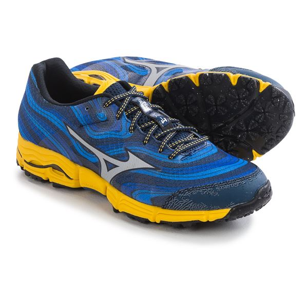 Mizuno Wave Kazan Trail Running Shoes (For Men)