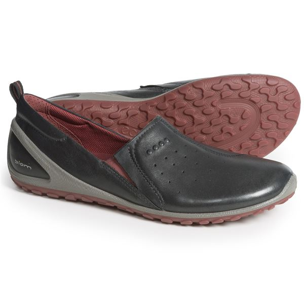 ECCO BIOM Lite Shoes - Leather (For Women) in Black - Closeouts
