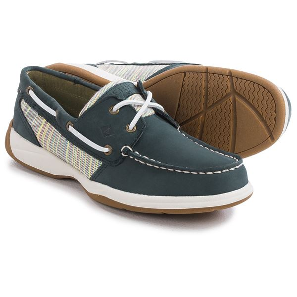 Sperry Intrepid Boat Shoes (For Women) in Linen - Closeouts