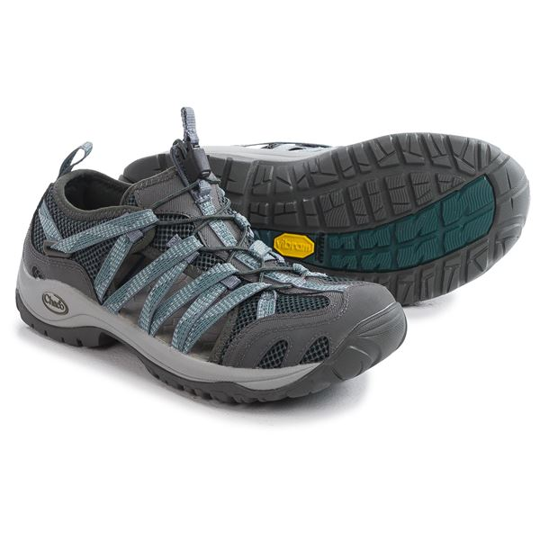 Chaco OutCross Lace Pro Water Shoes - Vibram® Outsole (For Women) in York Eclipse - Closeouts