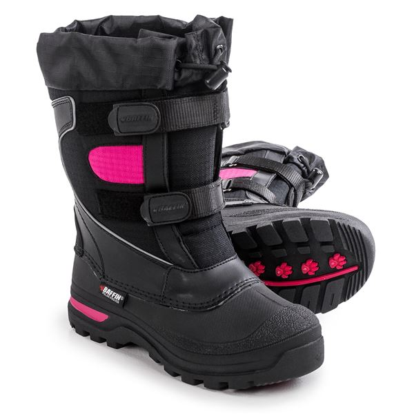 Baffin Marauder Pac Boots - Waterproof, Insulated (For Big Kids) in Black - Closeouts