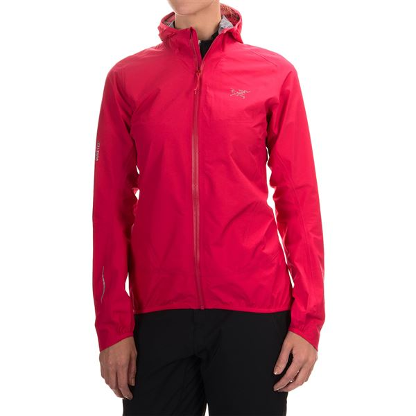 Arc'teryx Norvan Gore-Tex® 3L Hooded Jacket - Waterproof (For Women) in Violet Wine - Closeouts
