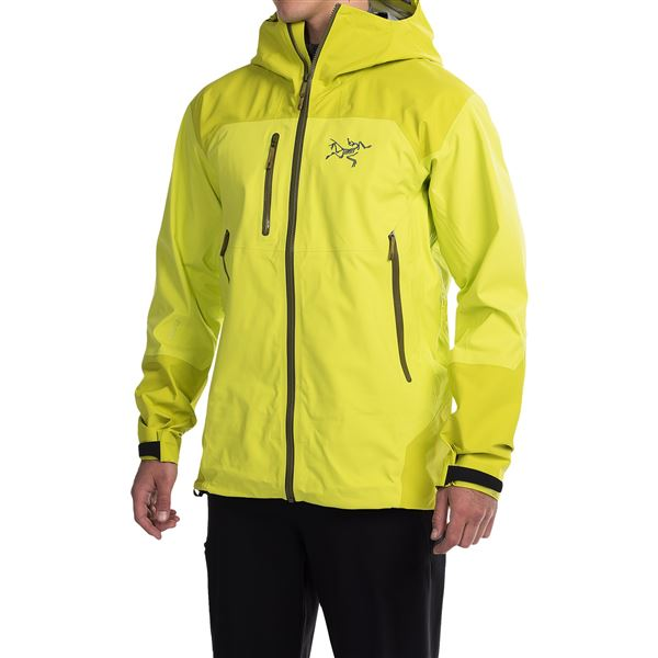 Arc'teryx Tantalus Gore-Tex® Hooded Jacket - Waterproof (For Men) in Oak Madras - Closeouts