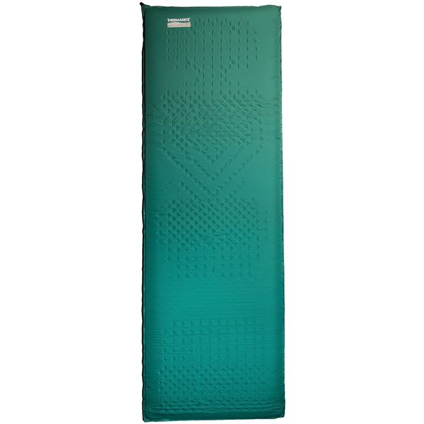 Therm-a-Rest Camper Deluxe Sleeping Pad - Self-Inflating, Large in Blue - Closeouts