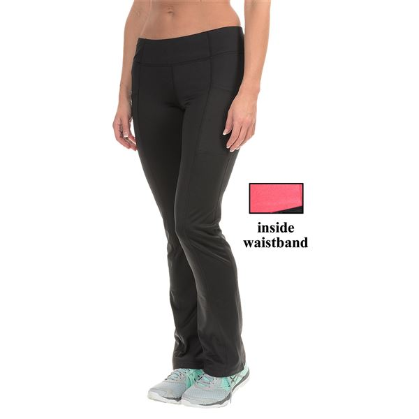 Layer 8 Cold Gear Pants (For Women) in Rich Black - Closeouts