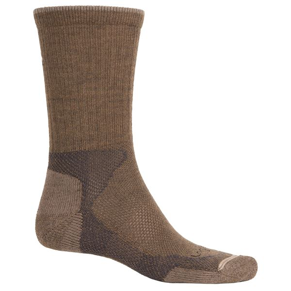 Lorpen Hiking Socks - Crew (For Men and Women) in Light Grey - Closeouts