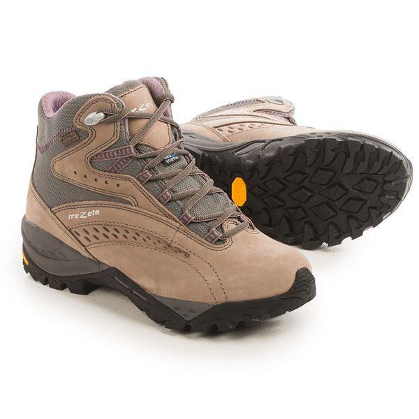 Trezeta Juliette EVO Hiking Boots - Waterproof, Nubuck (For Women) in Drakkar/Violet - Closeouts