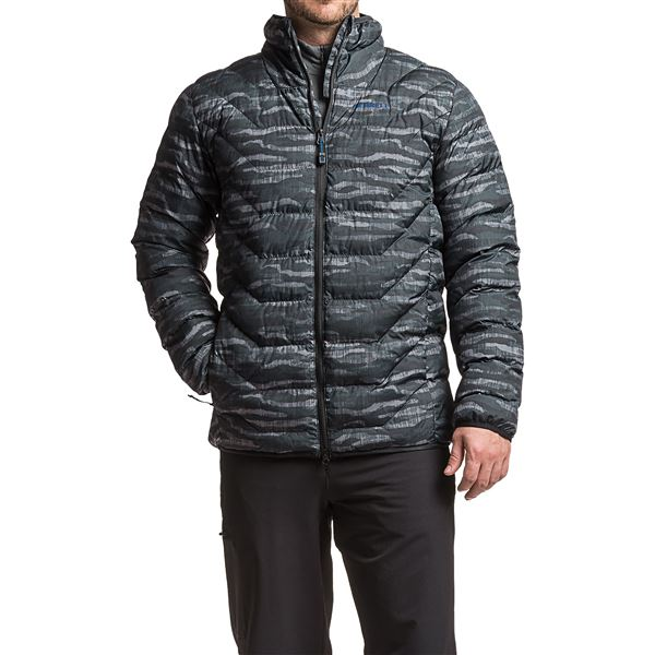 Merrell Glacial Featherless Puffer Jacket - Insulated (For Men) in Asphalt Camo - Closeouts