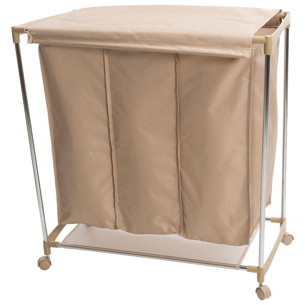 neatfreak!® Triple-Compartment Laundry Sorter in Chocolate - Closeouts