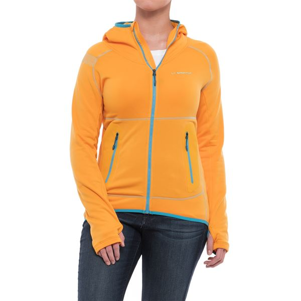La Sportiva Avail 2.0 Hoodie - Full Zip (For Women) in Iris Blue - Closeouts