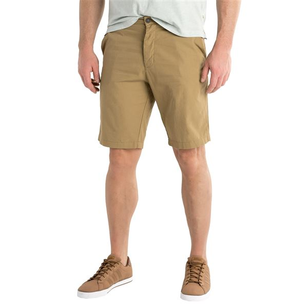 Three-Pocket Button-Fly Woven Shorts (For Men) in Seafoam - 2nds