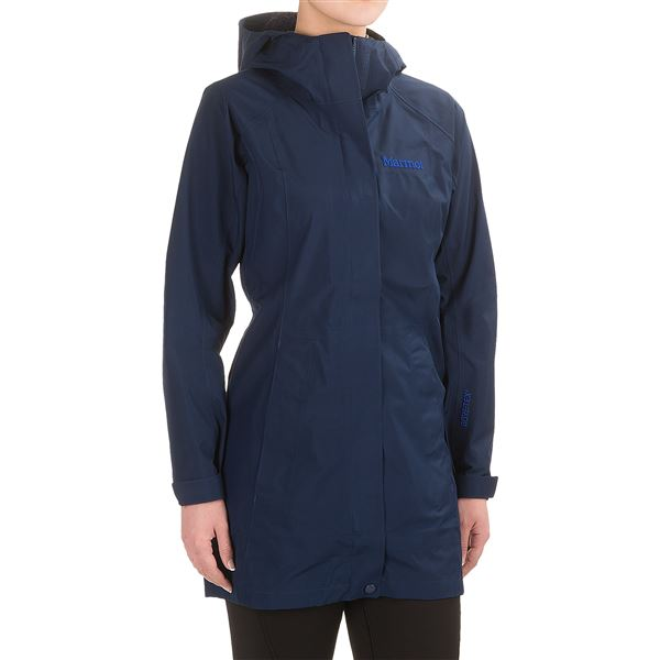 Marmot Essential Gore-Tex® Jacket - Waterproof (For Women) in Beetle Green - Closeouts