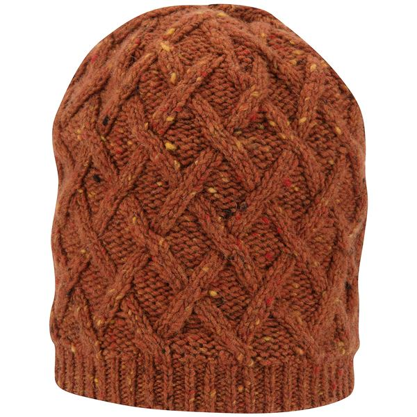 Black Diamond Equipment Karina Beanie - Merino Wool-Alpaca, Fleece Lined (For Men and Women) in Dark Maroon - Closeouts
