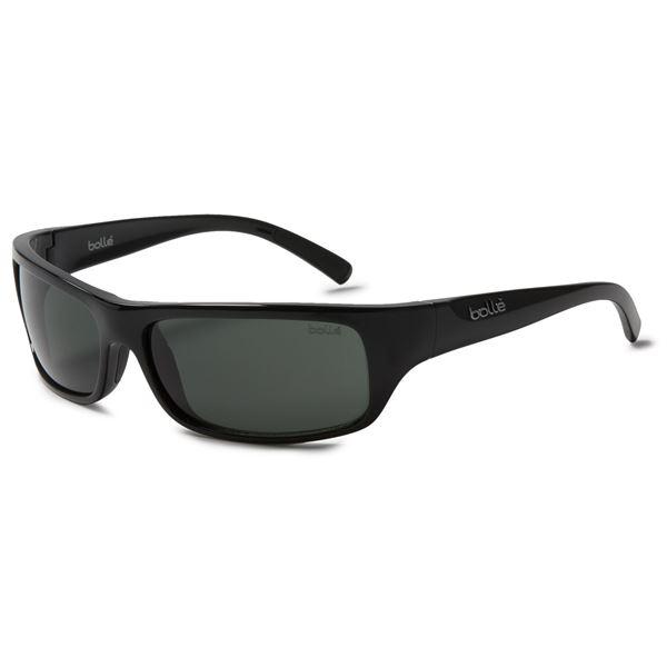 Bolle Fierce Sunglasses in Shiny Black/Purple/Tns Gun - Overstock