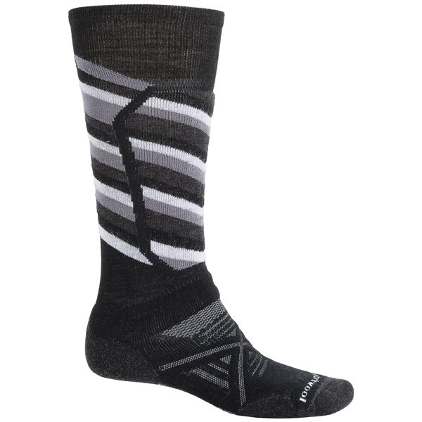 SmartWool PhD Ski Medium Socks - Merino Wool, Over the Calf (For Men) in Navy - 2nds
