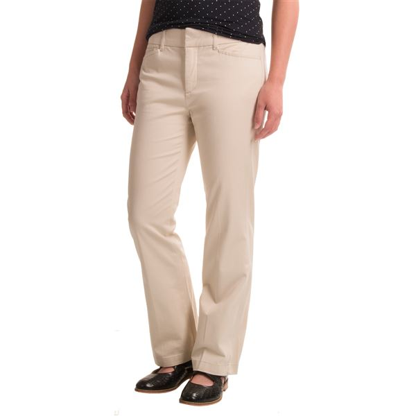 Stretch Twill Pants (For Petite Women) 215DR - Save 48%