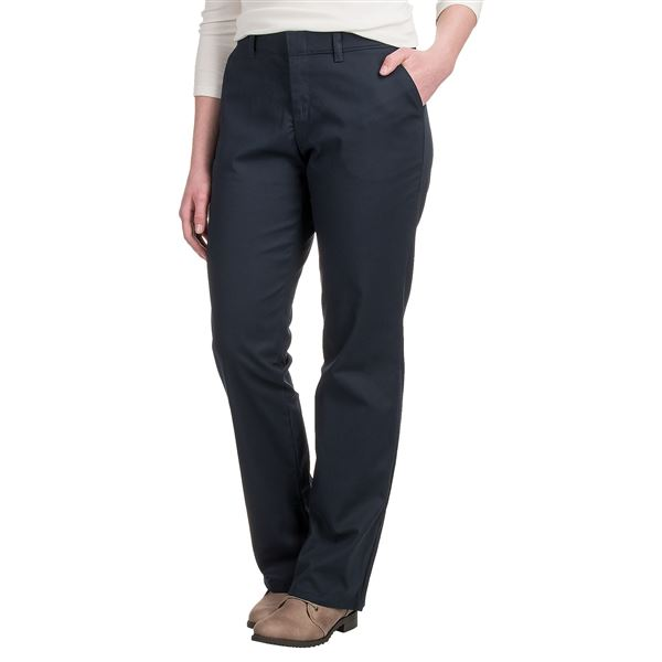 Dickies Straight-Leg Pants (For Women) in Khaki - 2nds