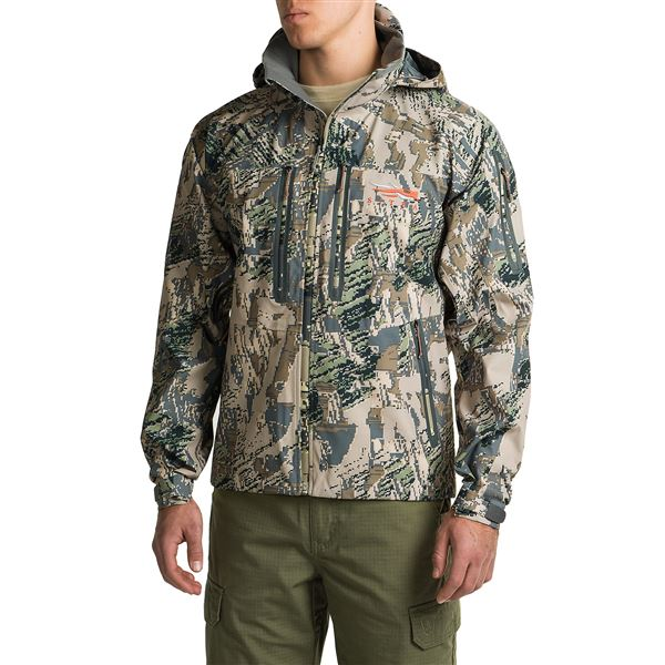 Sitka Cloudburst Gore-Tex® Jacket - Waterproof (For Men and Big Men) in Optifade Ground Forest - Closeouts