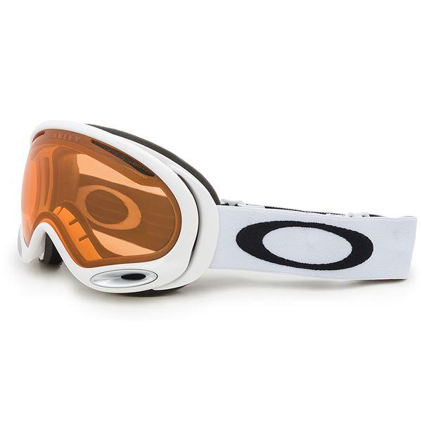 Oakley A-Frame 2.0 Ski Goggles in Jet Black /Persimmon - Closeouts