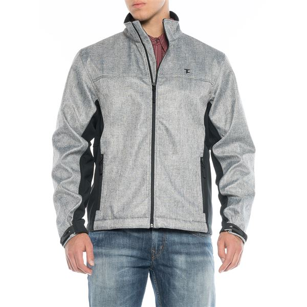 Powder River Outfitters Tuf Cooper High-Performance Jacket - Full Zip (For Men) in Silver - Closeouts