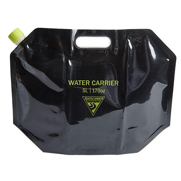 Seattle Sports AquaSto Water Carrier - 5 Liters in Black - Overstock