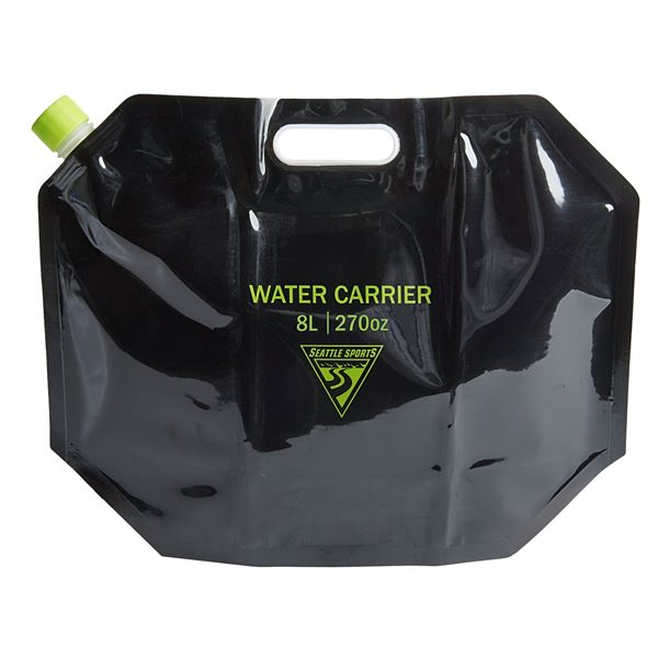 Seattle Sports AquaSto Water Carrier - 8 Liters in Black - Overstock