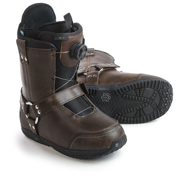 Burton X Frye Harness Snowboard Boots (For Women) in Folklore - Closeouts