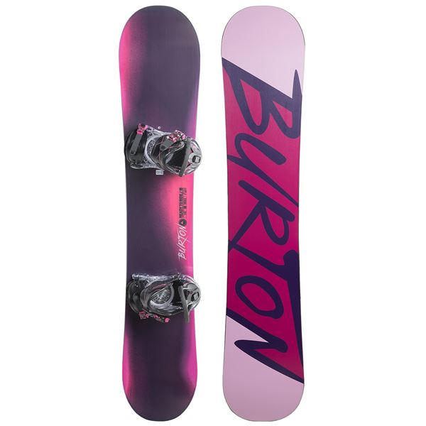 Burton Ready to Ride Snowboard Package (For Women) in See Photo - Closeouts