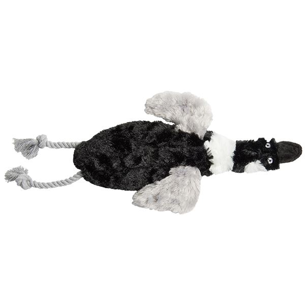 Aussie Naturals Floppie Goose Dog Toy - Stuffing Free in See Photo - Closeouts