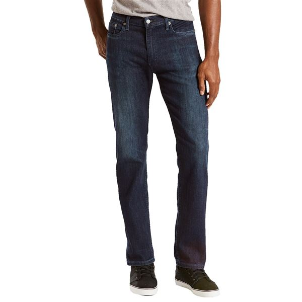 Levi's 513 Slim Straight Stretch Jeans - Straight Leg (For Men) in Grey - Closeouts