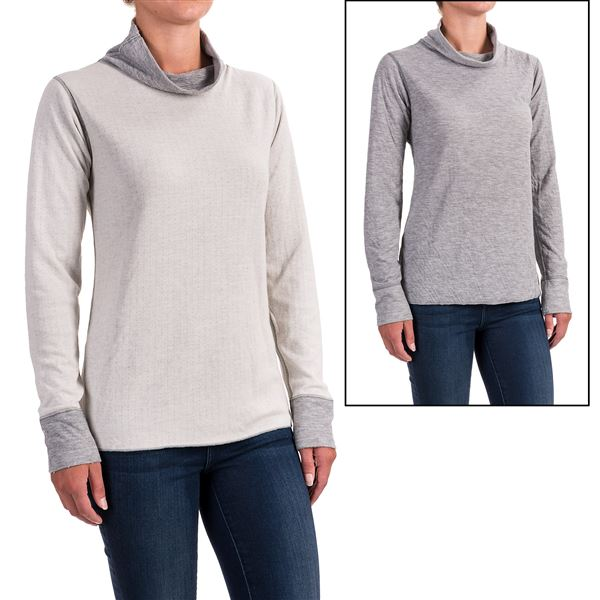 Ojai Topa Krush Turtleneck - Reversible, Long Sleeve (For Women) in Plum - Closeouts