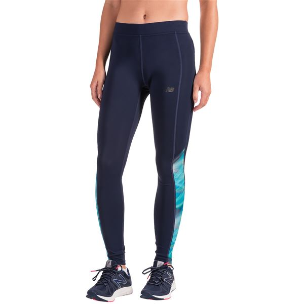 New Balance Accelerate Leggings (For Women) in Cosmic - Closeouts