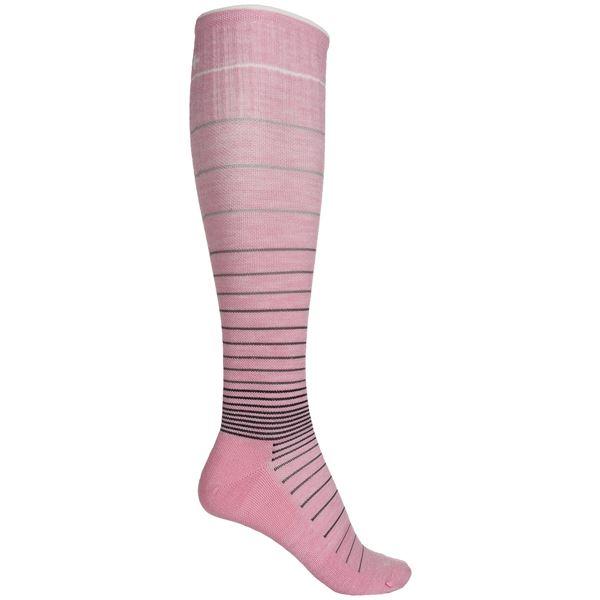 Sockwell Circulator Graduated Compression Socks - Merino Wool Blend, Over the Calf (For Women) in Khaki - Closeouts