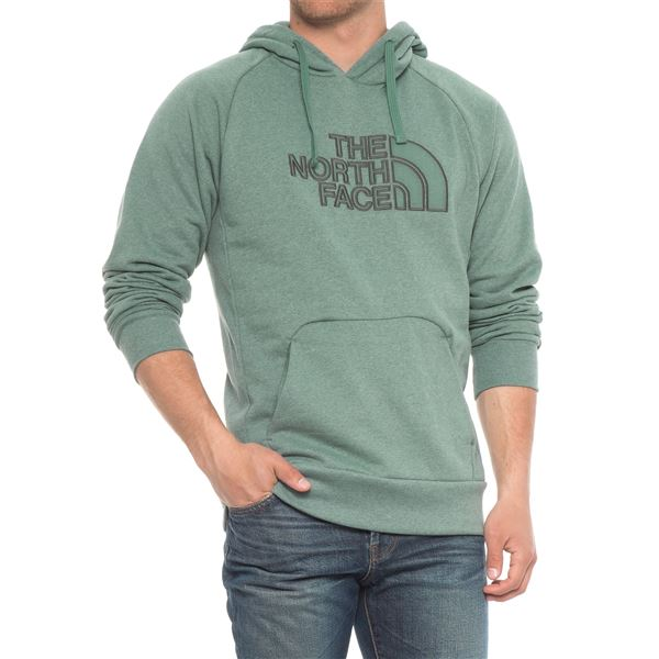 The North Face Avalon Half Dome Hoodie (For Men) in Sequoia Red Heather/Brandy Brown - Closeouts