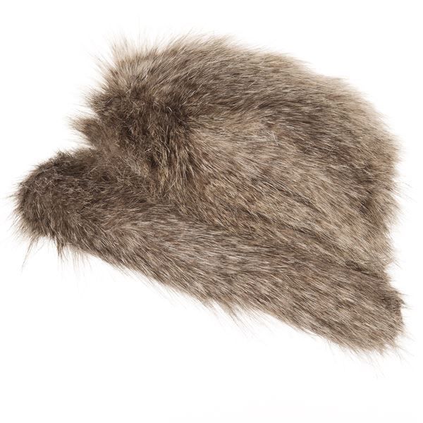 Parkhurst Jacqueline Faux-Fur Hat (For Women) in Arctic Wolf - Closeouts