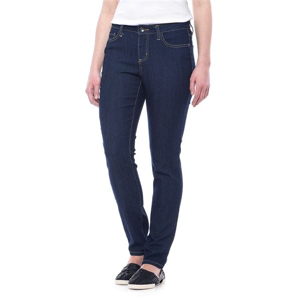 Skinny Denim Jeans (For Women) in Black - 2nds